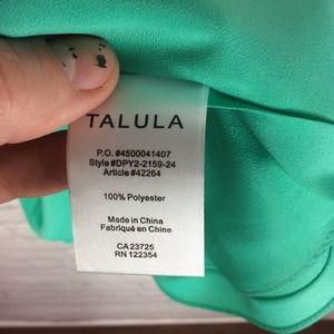 Aritzia Tops - Aritzia Talula Alyssa Blouse in Teal Size XS